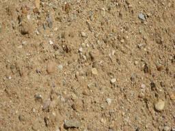 Песчано-гравийная смесь, песок