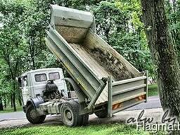 Песок. Гравий. Пгс. Вывоз мусора. Дешево. Без выходных.