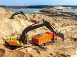 Песок Гравий щебень пгс торф чернозём Асфальтогранулят бетон раствор - фото 3