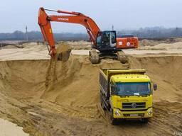 Песок, ПГС, гравий, смеси С3, С4, С5, С12. Доставка