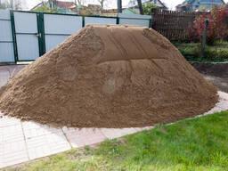 Песок, ПГС, грунт
