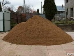 Песок, ПГС, сеянный, чернозём, растительный грунт, торф.