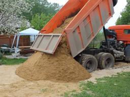 Песок с доставкой по Пуховичскому району