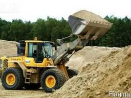 Песок сеяный(1кл,2кл) доставка самосвалом 10,20,25,30т