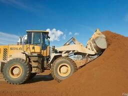 Песок (сеяный; мытый; штукатурный;плывун) ПГС 10 20 25 30 т