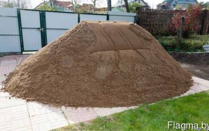 Песок, щебень, ПГС, гравий.