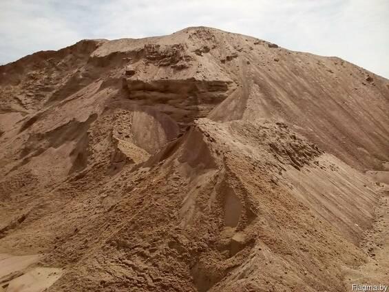 Песок с доставкой от 5 тонн в Витебске. 10 тонн, 20 тонн