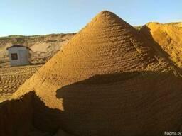 Песок строительный: сеяный, мытый, 2 класса, гравий, ПГС.