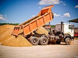 Песок строительный, сеяный, не сеяный, мытый, 1, 2, 3 класса.