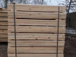 Пиломатериалы обрезные. Порода дерева сосна.