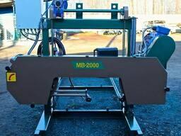 Пилорама ленточная МВ-2000(цепная)