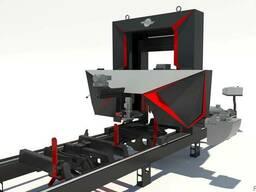 Пилорама ленточная TRAK-MET TTS-800/6 стандарт