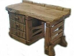 Письменный стол - полностью из массива Дуба