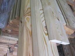 Планкен скошенный лиственница сиб. 18х85-135х2,0-6,0м сортАВ - фото 3