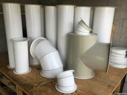 Пластиковые воздуховоды от 200D
