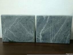 Плитка из талькохлорита шлифованная размером 300*300*40мм