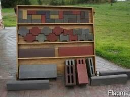 Плитка тротуарная, бордюр, блоки стеновые (демлеры)