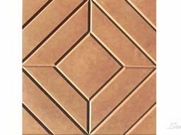 Плитка тротуарная Ромб 25x25x6см.