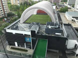 Пневмокаркасное сооружение для спортивных площадок от производителя - фото 2