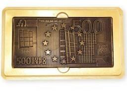Подарок из шоколада ручной работы. 500 евро, 70 г