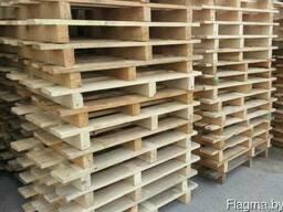 Поддон деревянный новый