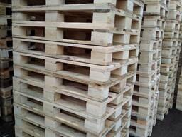 Поддон, паллет деревянный 800х1200х144 аналог Епал