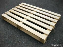 Поддоны деревянные 1200х1000х144 мм