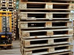 Поддоны деревянные 1200х800 EUR б/у