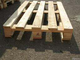 Поддоны деревянные 800х1200х144мм облегчённые новые и б/у