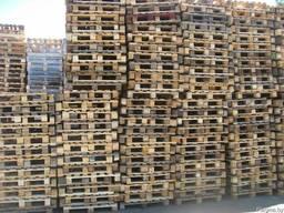Поддоны деревянные,Б\у,1200х800, 1200х1000, Нестандарт, Лом