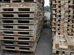 Поддоны(паллеты) деревянные б/у