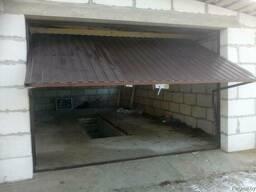 Подъемные поворотные гаражные ворота