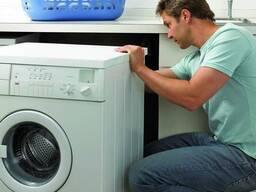 Подключение стиральных машин.