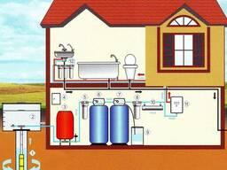 Подключение воды к дому