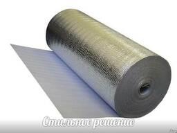 Купить фольгированную подложку под ламинат Изобонд 5мм