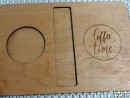 Поднос для чая и кофе - фото 2