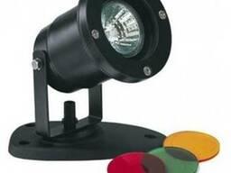 Подводный фонарь, светильник. Подсветка цветная