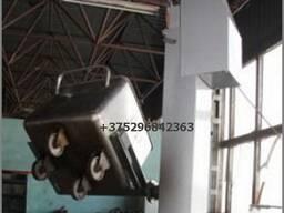 Подьёмник-опрокидыватель тележек ( МИФ) на 100 или 200 литров