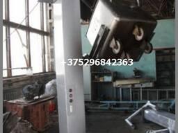 Опрокидыватель для тележка 200 и 250 л ( типа Чебурашка или Рикша)
