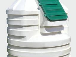 Погреб пластиковый, модель 2500Н