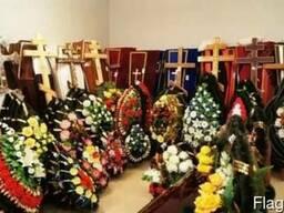 Похороны Памятники Ограды Благоустройство Ритуальные товары