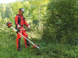 Покос травы, стрижка газона, аэрация, культивация