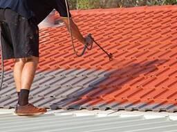Покраска и чистка крыш