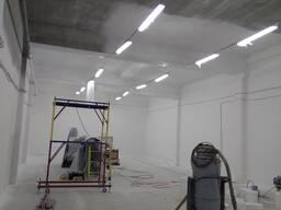 Покраска складских помещений