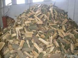 Покупаем дрова, колотые уложенные в ящики