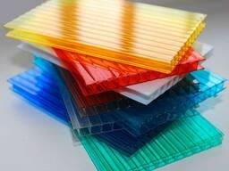 Поликарбонат Цветной и Тепличный 4-6 мм