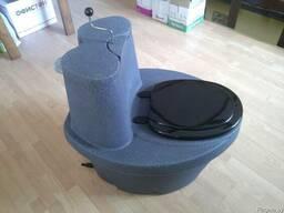 Полноразмерный торфяной туалет» с сиденьем