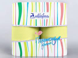 Полотенца бумажные цветные однослойные
