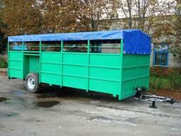 Полуприцеп для перевозки скота ТПС