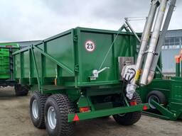 Полуприцеп тракторный 9тн,12тн,12тн с загрузчиком зерна (собственное производство)